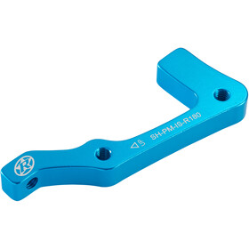 Reverse IS-PM Skiveadapter Shimano 180 mm bagtil, light blue